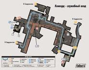 Fo4 Vault Dweller's Survival Guide Concord Civic Access map (ru)