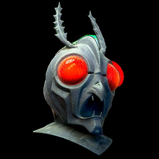 Alien mothman mask