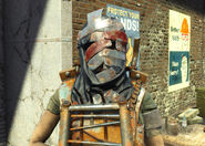 Disciples banded helmet