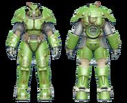 FO4CC X-01 power armor green