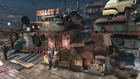 FO4 Fallon basement TV