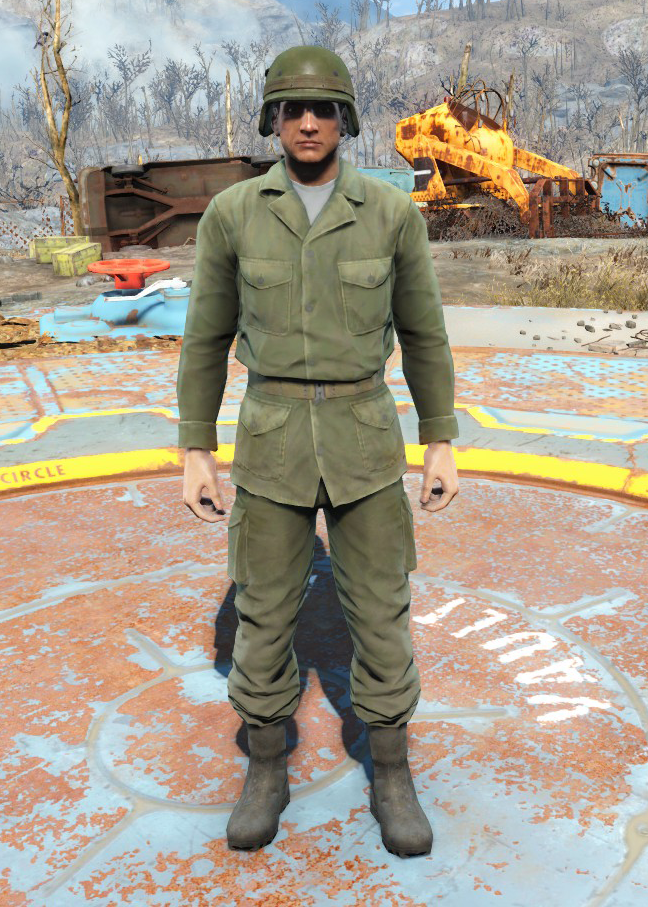 Army fatigues (Fallout 4)
