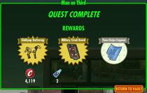 FoS Man on Third rewards