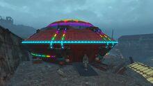 Ultimate UFO illuminated
