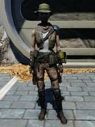 FO76WL Treasure Hunter Outfit Female