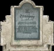 FO76 Whitespring placard