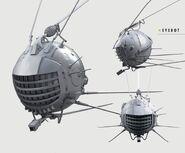 Fo4 eyebot concept art