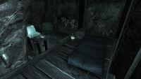 Survivalist hidden cache Morning Glory cave