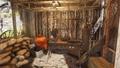 Cabaña del fabricante de licores interior 3