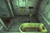 FNV Novac vacant room second floor bathroom