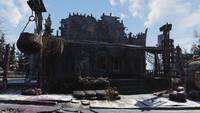 FO76 Huntersville ruined house