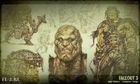 Art of Fallout 3 super mutants CA2