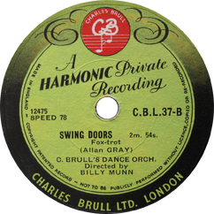 Charles Brull's Dance Orchestra - Swing Doors.png