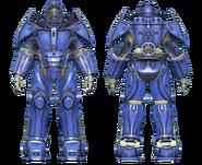 FO4CC X-02 power armor blue