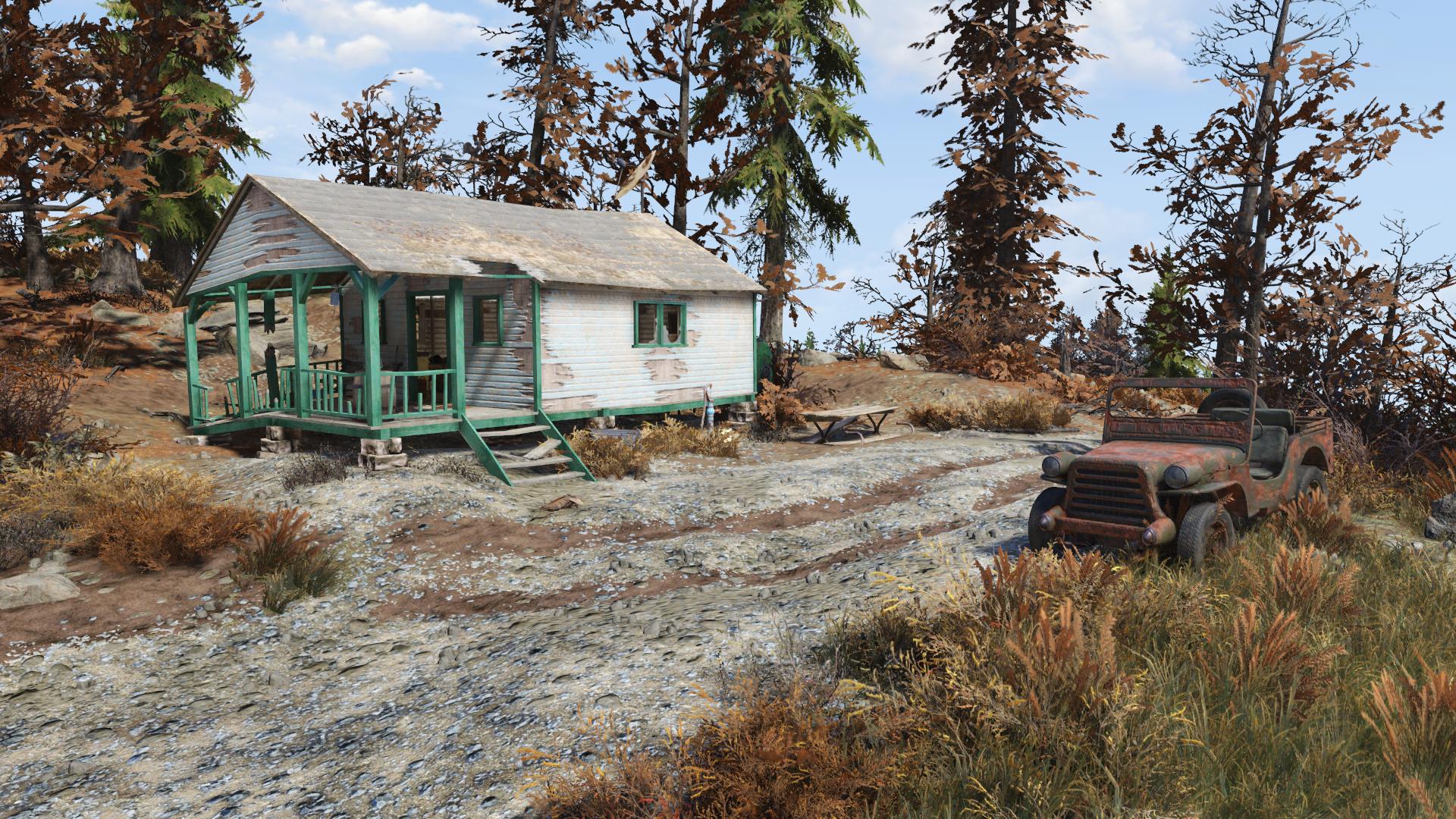 Investigator's cabin