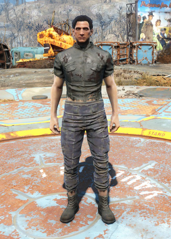 Torn shirt & ragged pants (Nuka-World)