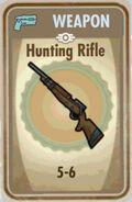Fos Hunting Rifle Card