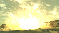 Holy Frag Grenade explosion