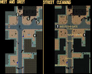 Carbon town center map
