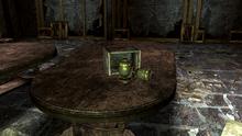 FNV Searchlight church basement mini nuke