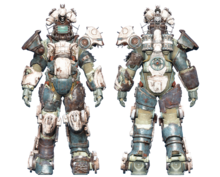 FO4CC Horse power armor white