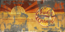 FO4NW Nuka-Cola Orange poster