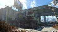 FO4 Bus and Apartment Wreckage (4)