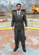 FO4 Clean black suit
