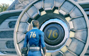 Fo76 vault 76 door closed
