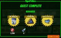 FoS Signal Failure rewards