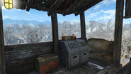 Ham radio Gunners outpost