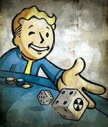 Art-vault boy gambler