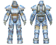FO4CC T-51 power armor aquatic camo