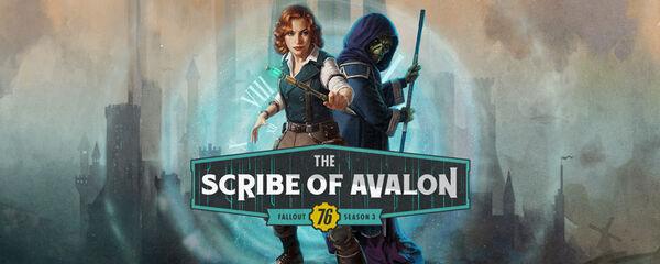 FO76 Bannière Le Scribe d'Avalon.jpg
