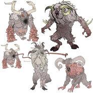 FO76 Chris Ortega concept (The SheepSquatch Monster) (7)