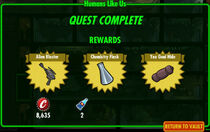 FoS Humans Like Us rewards