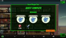 Secret Weapon Test Rewards