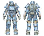 FO4CC T-45 power armor aquatic camo