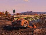 Мост через ущелье Нью-ривер
