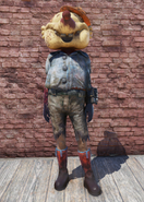 FO76 Tattered Mole Outfit with Hat