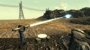 FO3BS Tesla cannon — Shot