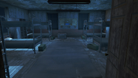 FO4 Fort Strong inaccessible barracks