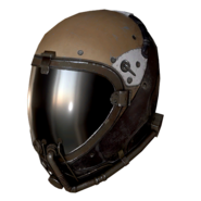 FO76 Atomic Shop - Brown flight helmet