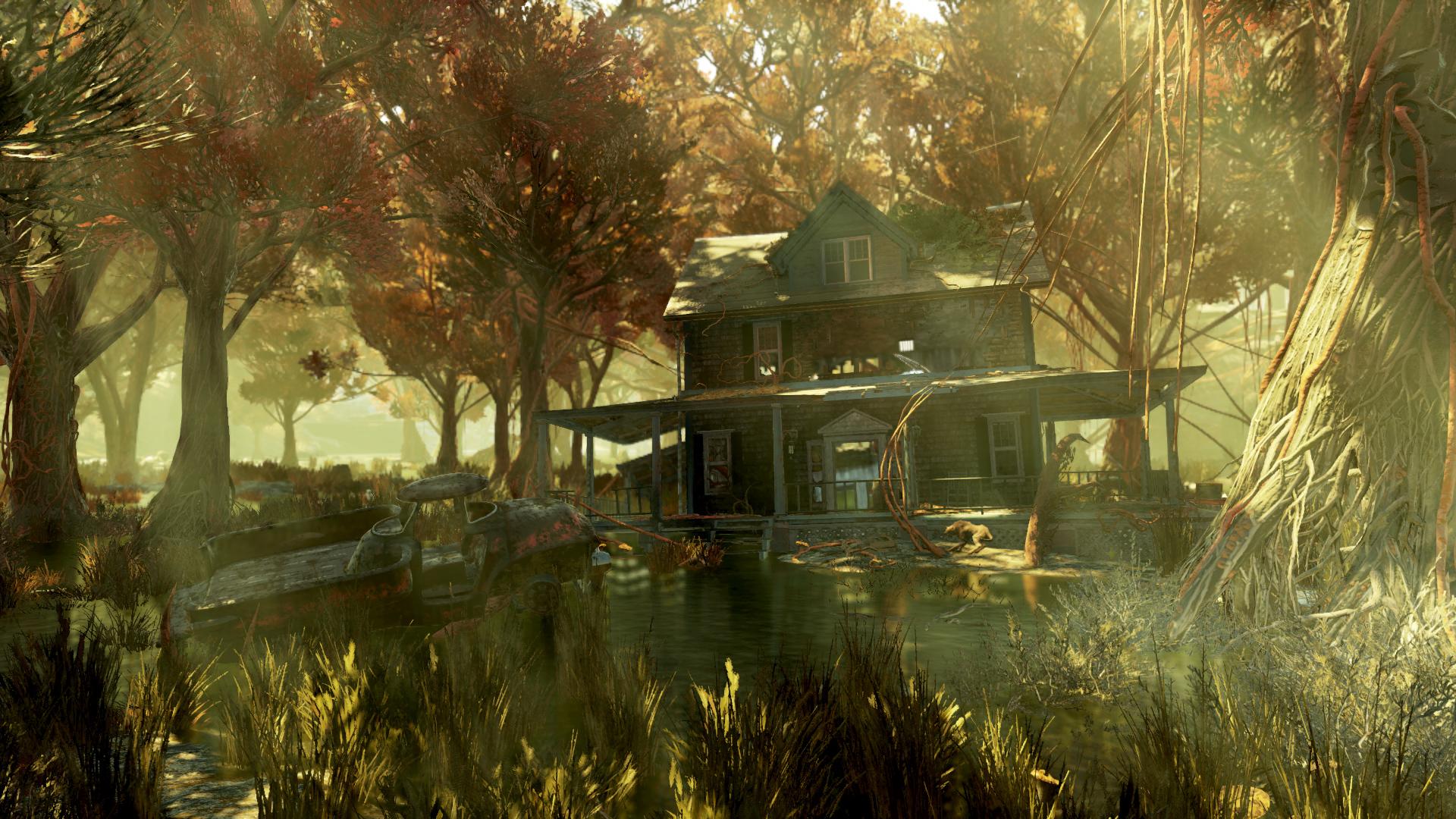 Деревянный дом-образец
