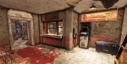 FO76 Lewisburg station (Trading post)