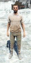 Undershirt & jeans male