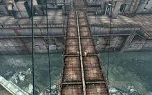 FO3 Rivet City Runaways on bridge