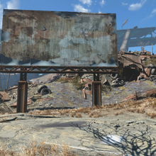 FO4 Rotten Landfill sign and east entrance.png