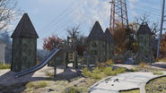 FO76 The Giant Teapot (playground)