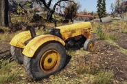 Fo76 Industrial yellow tractor 25